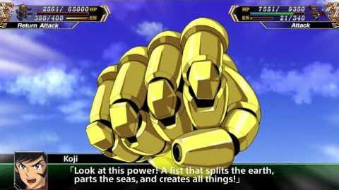 Super Robot Taisen V(ENG) Mazinger Z All attacks