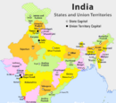 States and territories of India