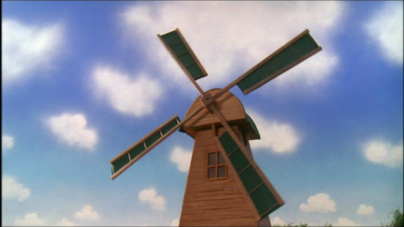TV版第7シーズンのトビーの風車
