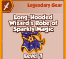 Long-Hooded Wizard's Robe of Sparkly Magic (Legendary)