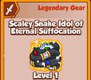 Scaley Snake Idol of Eternal Suffocation (Legendary)