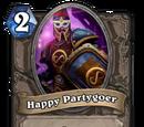 Happy Partygoer