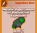 Metalic Hypercannon of Radioactive Explosions (Legendary)