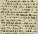 Untitled animated Godzilla film