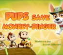 Pups Save Monkey-dinger