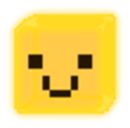 Ghost 1.0 Emoticon cubehappy.png