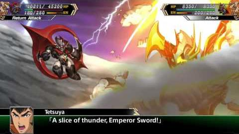 Super Robot Taisen V(ENG) Mazin Emperor G All attacks