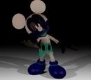 Darkened Photo-Negative Mickey