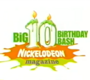 Nickelodeon Magazine's Big 10 Birthday Bash