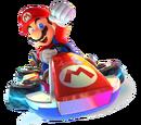 Mario Kart: Super Circuit racers