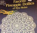 American School of Needlework 1031 Favorite Pineapple Doilies of Rita Weiss