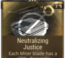 Neutralizing Justice