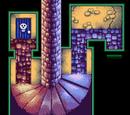 Cầu thang trong hầm