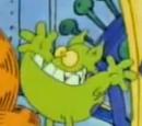 Green Clarion Alien