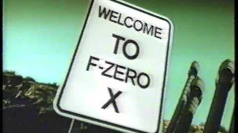 F-Zero X (1998) USA Commercial-1