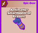 Antimatter Smartbomb of Erasure