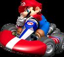 Super Mario Kart racers