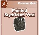 Painted Styrofoam Vest