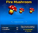 Fire Mushroom