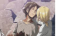 Historia holds Ymir.png