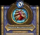 Skeletal Reconstruction