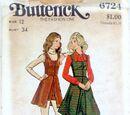 Butterick 6724 A