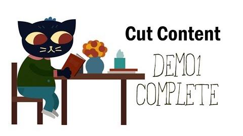 Cut Content Night in the Woods - Demo 1 Complete