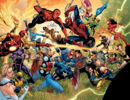 Savage Land Skrulls (Earth-616), New Avengers (Earth-616), and Mighty Avengers (Initiative) (Earth-616) from Secret Invasion Vol 1 2 002.jpg