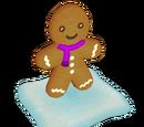 Bonhomme violet en pain d'épices