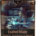 Exalted Blade (Stance)