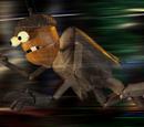 Acorn monster