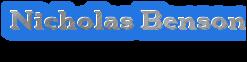 Nicholas Benson Wiki
