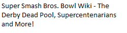 Super Smash Bros. Bowl Wiki