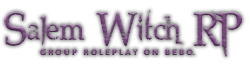 Salem Witch Roleplay Wiki