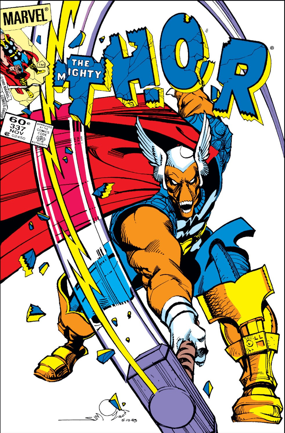 comic book fans - Thor Beta Ray Bill