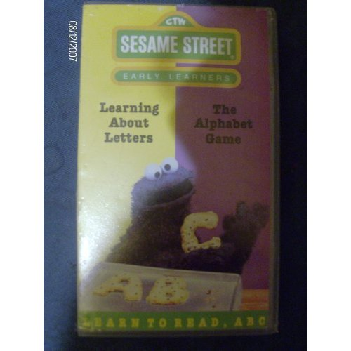 sesame street learning about letters vhs learning about letters muppet wiki wikia 10883
