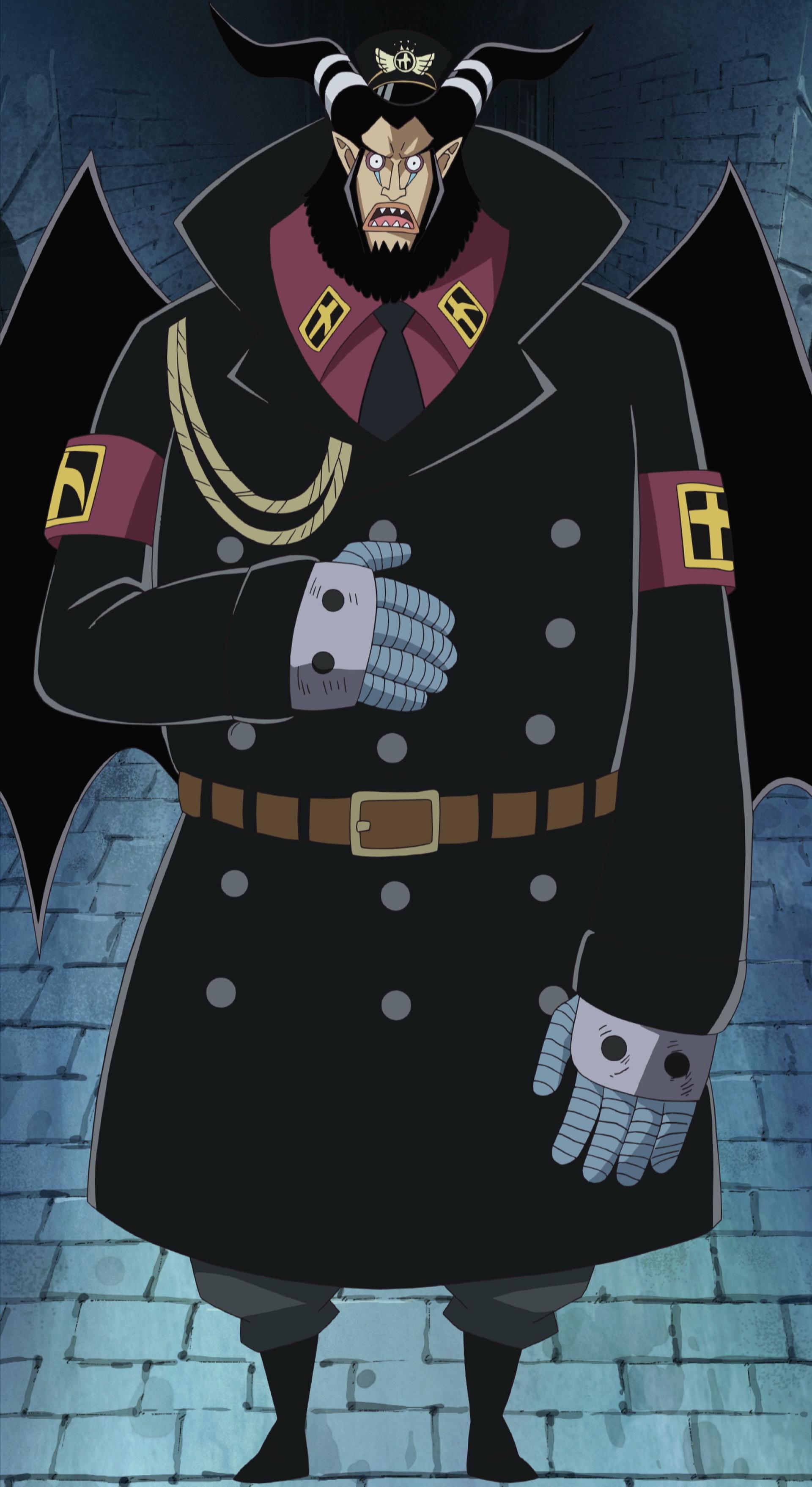Magellan, the Warden of Impel Down Minecraft Skin