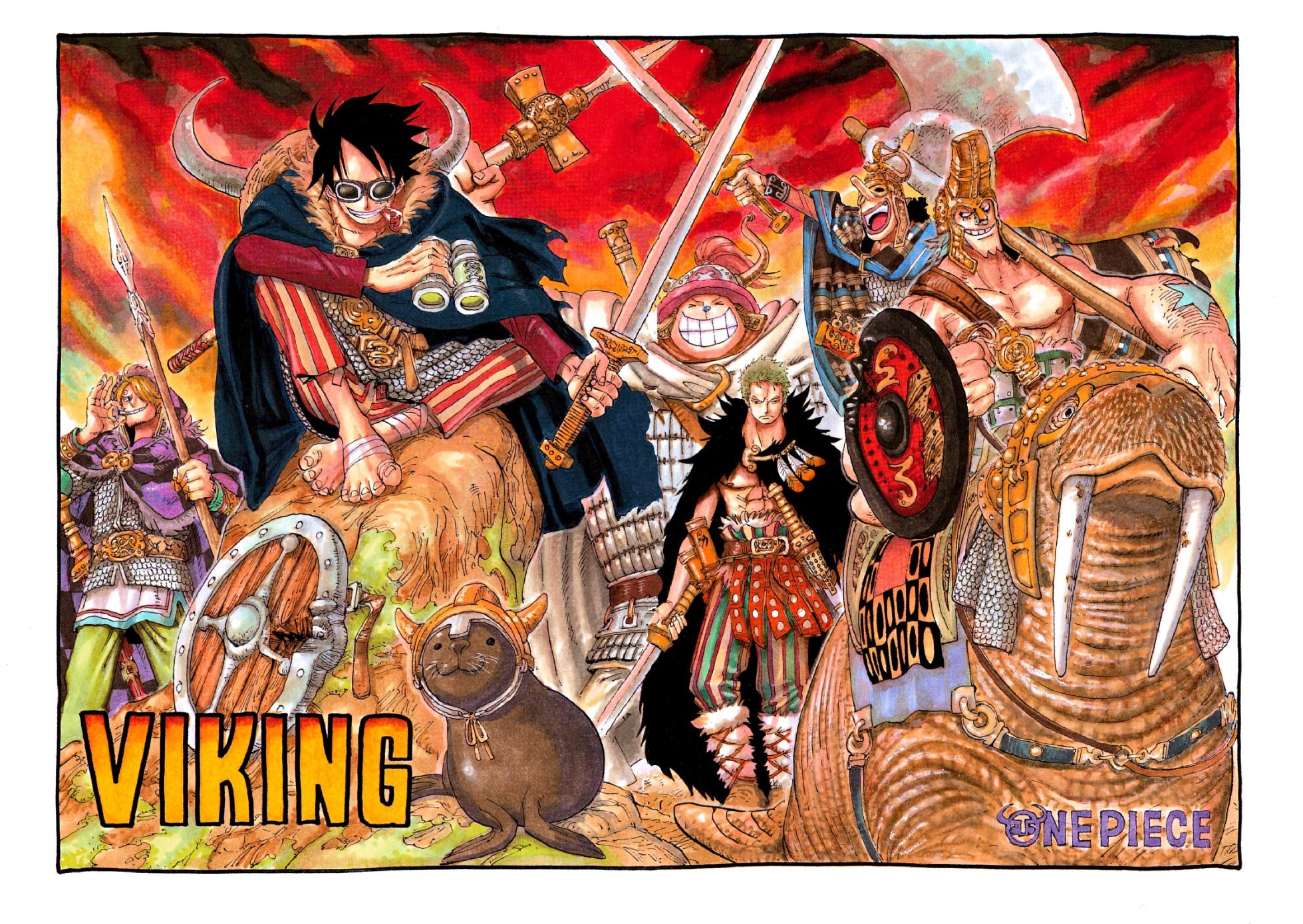 Chapter 446 - The One Piece Wiki - Manga, Anime, Pirates ...