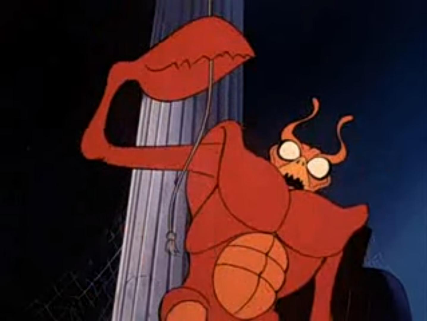 scooby doo crab