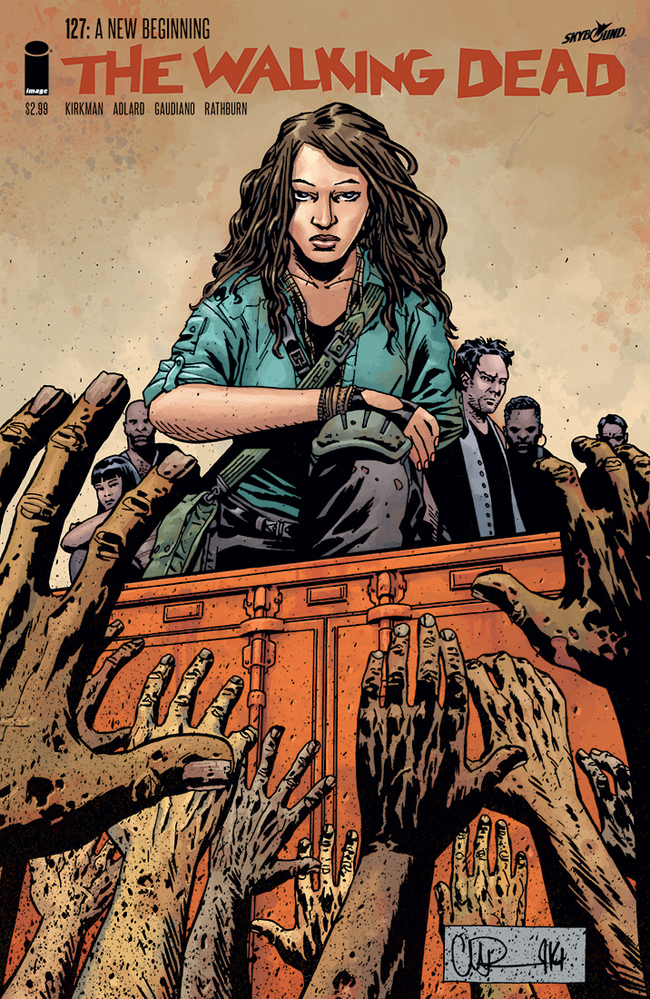 Just another day at the office walking dead pdf comic