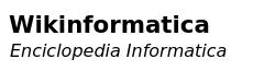 Wikinformatica